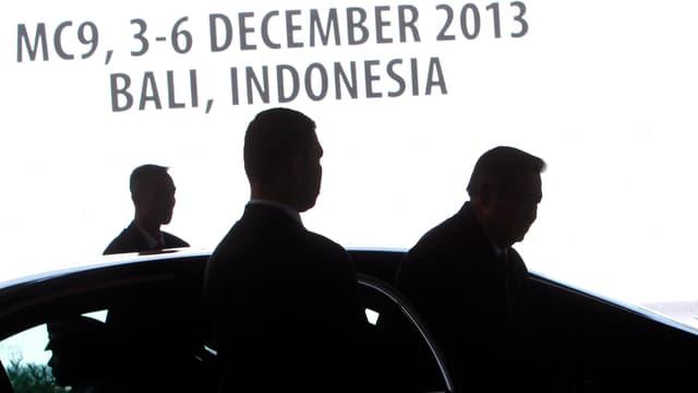Ankunft der Teilnehmer an der WTO-Konferenz in Bali.