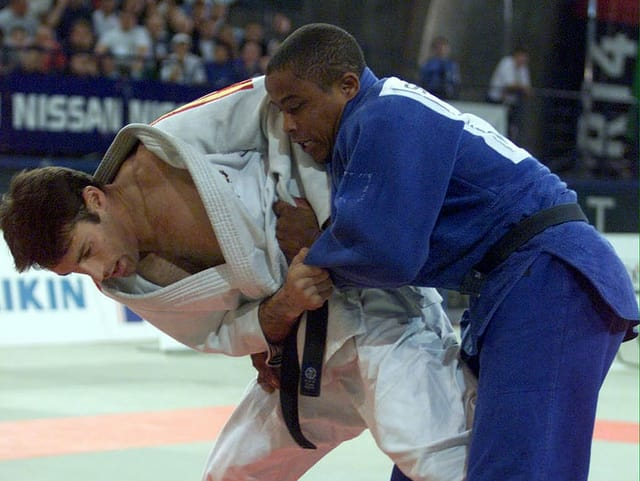 Judoka Sergei Aschwanden.