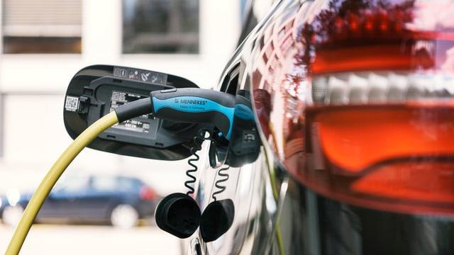 Stromkabel und Elektroauto