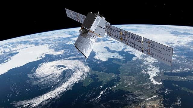 Der Satellit «Aeolus»