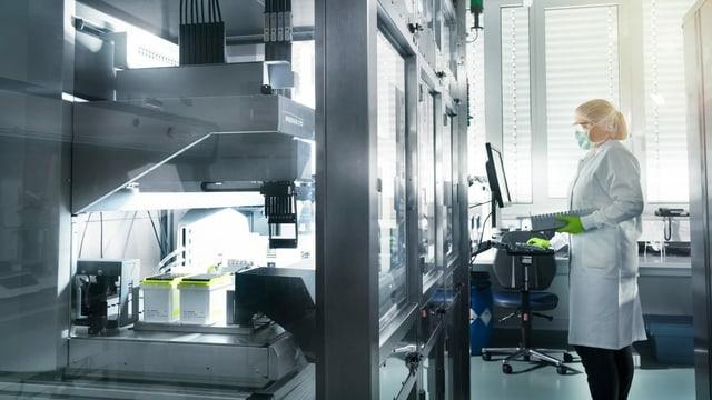Labor von PfizerBiontech in Deutschland