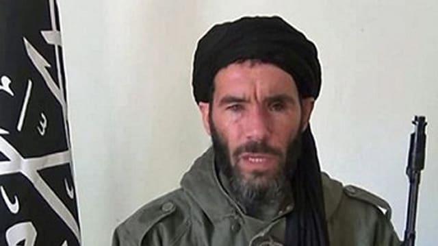 Il dschihadist algerian Mokhtar Belmokhtar.