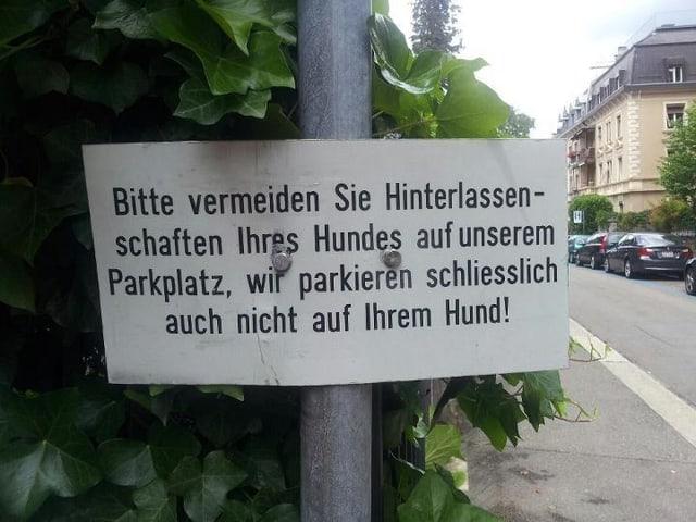 Gesehen in Zürich. :-)