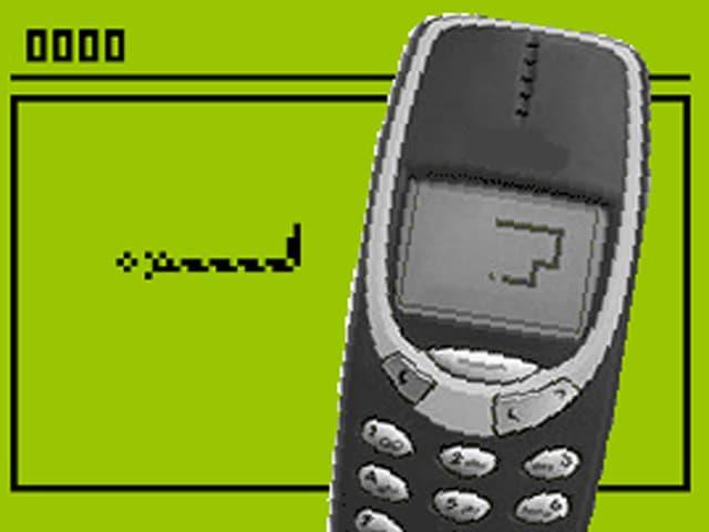 Das beliebte Handyspiel Snake