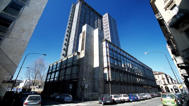 Das RAI-Gebäude in Turin.