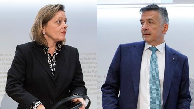 Heidi Zgraggen und Hans Wicki