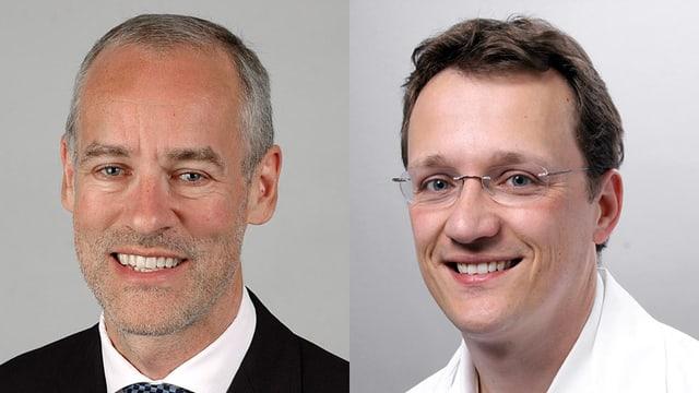 Prof. Bruno Imthurn und Dr. Mischa Schneider