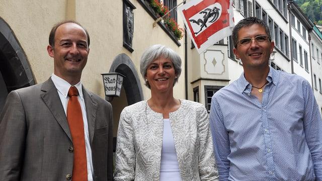 Gruppenfoto der Churer Regierung