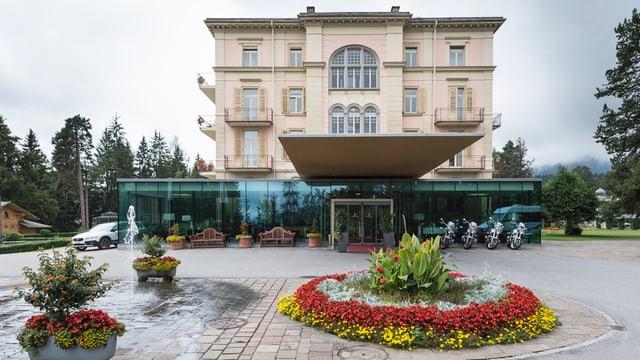 L'hotel Waldhaus a Flem.