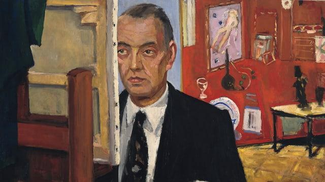 Porträt Georges F. Keller von Sicard Pierre