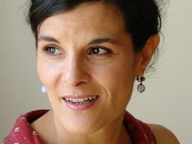 Porträt Inés Mateos.