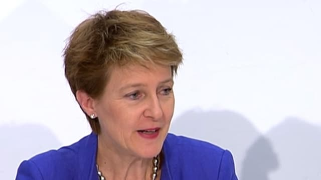 Justizministerin Simonetta Sommaruga
