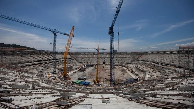 Umbau Das «Maracana»-Stadion wird für die WM 2014 ein weiteres Mal modernisiert.
