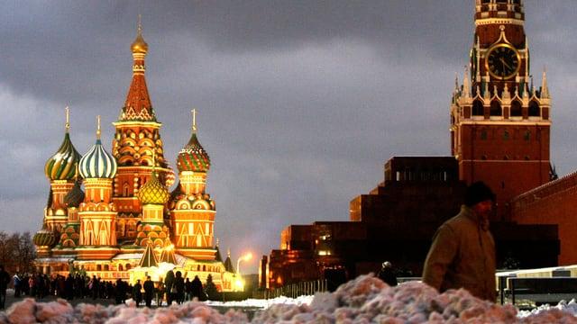 Der Kreml in Moskau.