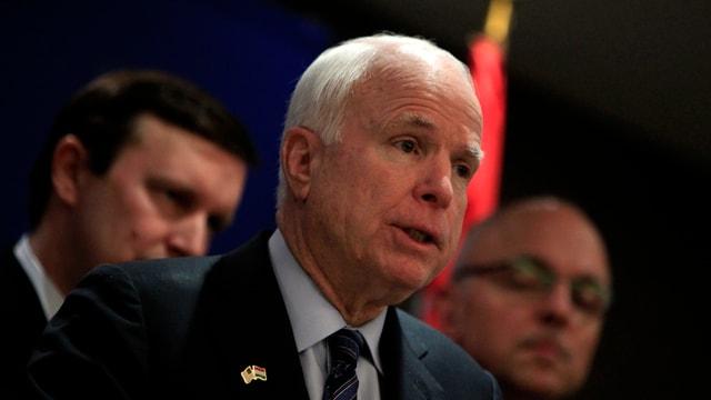 Der amerikanische Senator John McCain