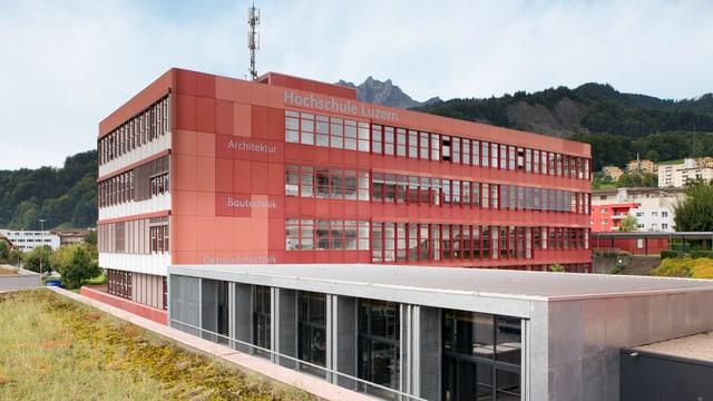Gebäude der Hochschule Luzern in Horw