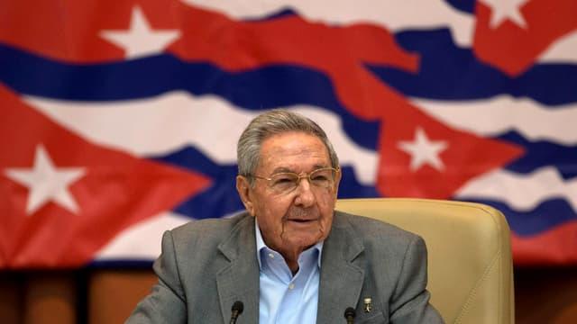 Raul Castro am Parteikongress im April.