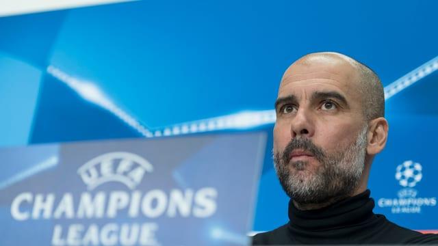 Il trenader da Manchester City, Pep Guardiola.
