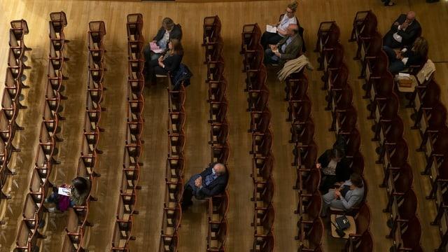 Erstes Konzert in der Victoria Hall in Genf nach dem Lockdown.