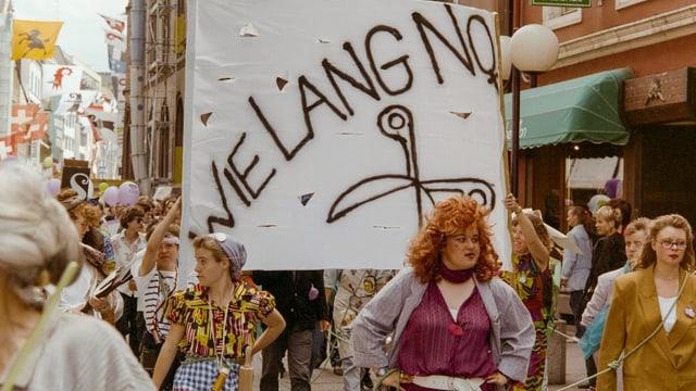 Der Frauenstreik 1991