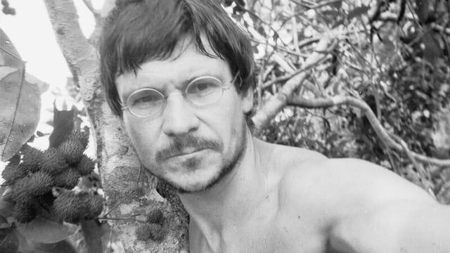 Bruno Manser im Regenwald