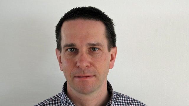 Porträtbild Martin Zimmermann, Regierungsratskandidat SVP Nidwalden.
