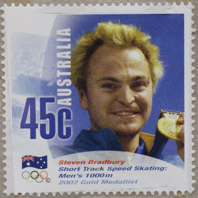 Briefmarke mit Briefmarke