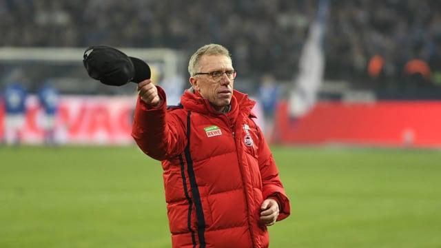 Köln-Trainer Peter Stöger.