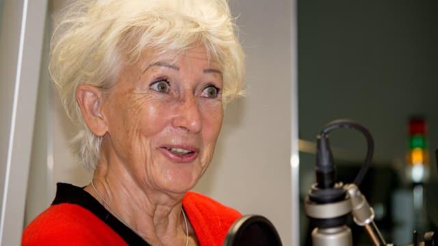 Ursula Streit im Studio
