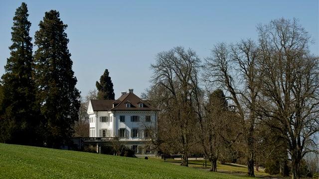Totale auf Schloss Eugensberg.