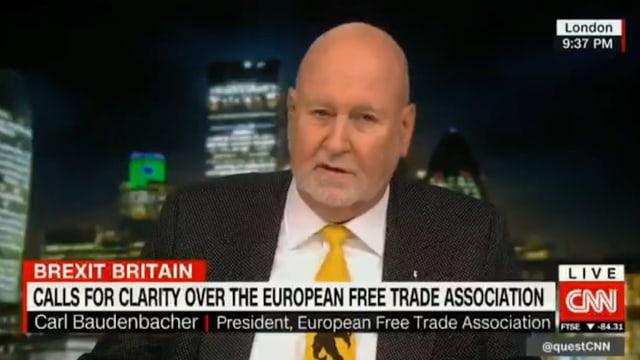 Carl Baudenbacher auf CNN.