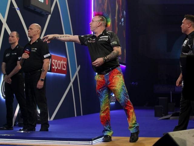 Peter Wright im Halbfinal.