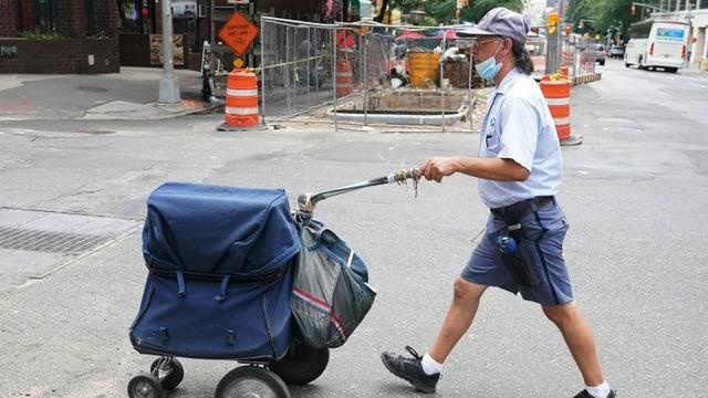 Briefwahl-Desaster in New York
