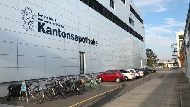 Der Neubau der Kantonsapotheke in Schlieren.