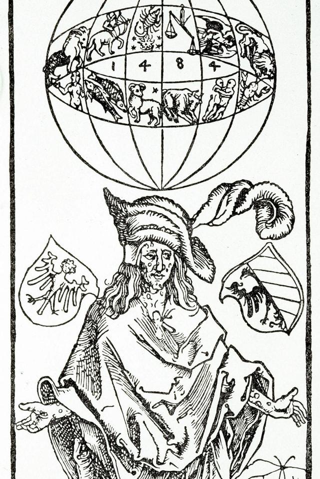 Ausschnitt aus Albrecht Dürers «Darstellung eines Syphilitikers».