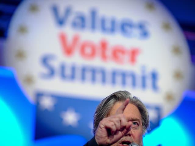 Bannon am Werte-Wähler-Gipfel
