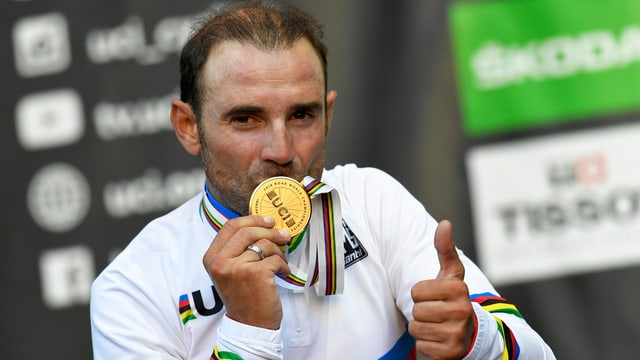 Alejandro Valverde, il nov campiun mundial da velo.