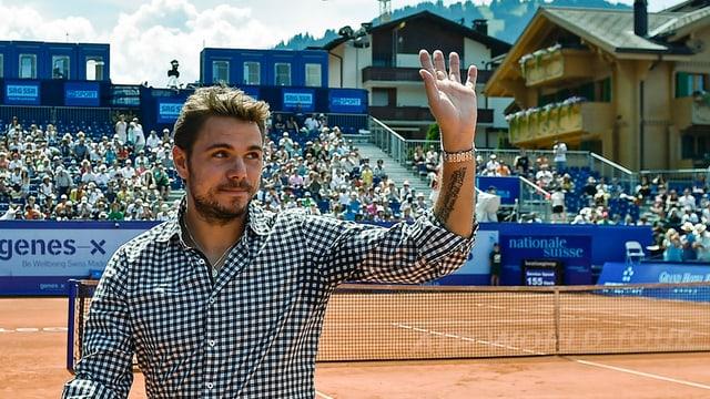 Stan Wawrinka sto dar forfait quest onn per il turnier a Gstaad.