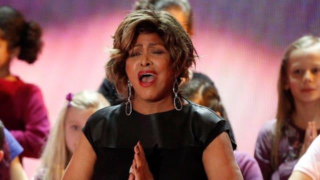 Tina Turner, US-amerikanische Sängerin