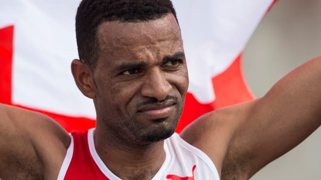 Tadesse Abraham, qua al campiunadi europeic 2016 ad Amsterdam.