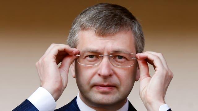 Der russische Oligarch Dmitri Ribolowlew