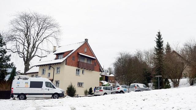 In diesem Haus in Flaach brachte die Mutter am 1. Januar 2015 ihre beiden Kinder um.