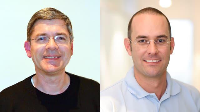 Dr. Christian Eicke und Dr. Marc Schätzle.