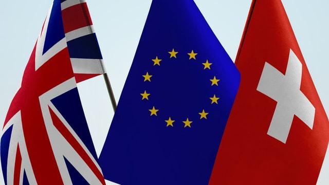 Video «Briten und Schweizer – die Stiefkinder der EU» abspielen