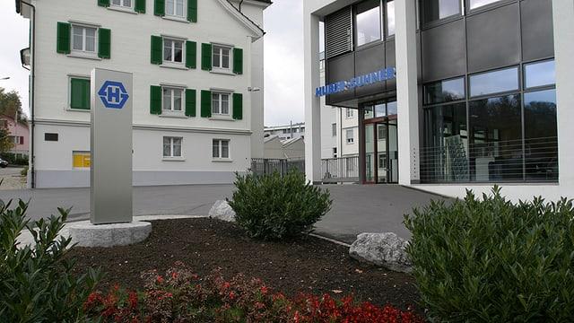 Gebäude Huber + Suhner in Herisau