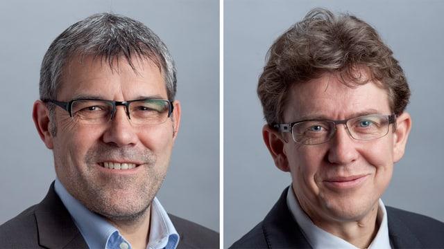 Eric Nussbaumer und Albert Rösti