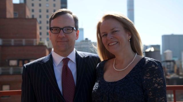 Christina und Ehemann Greg.