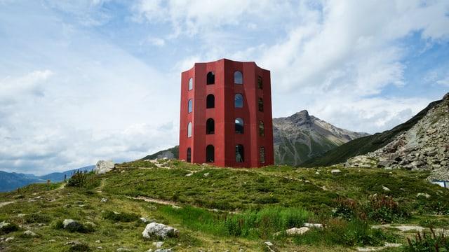 Der Turm von aussen