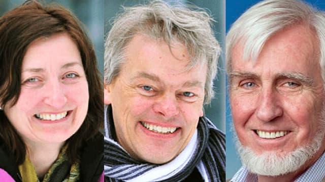 Portraits der drei Preisträger