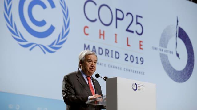 UNO-Weltklimakonferenz in Madrid
